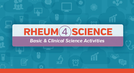 Rheum4Science Online Course