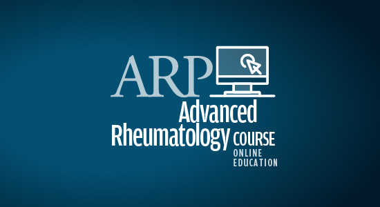 Advanced Rheumatology online course