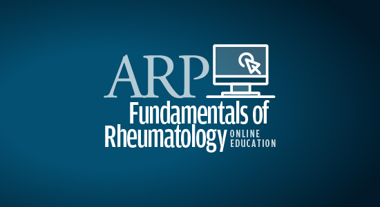 Fundamentals of Rheumatology online course