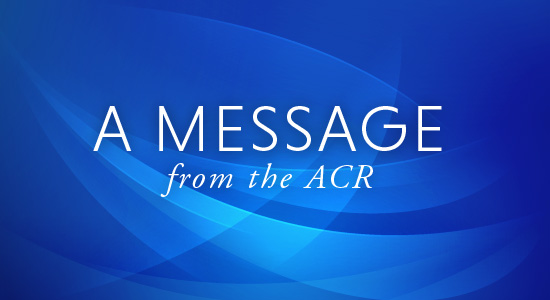 Message from ACr
