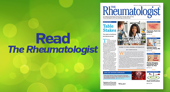 Read The Rheumatologist