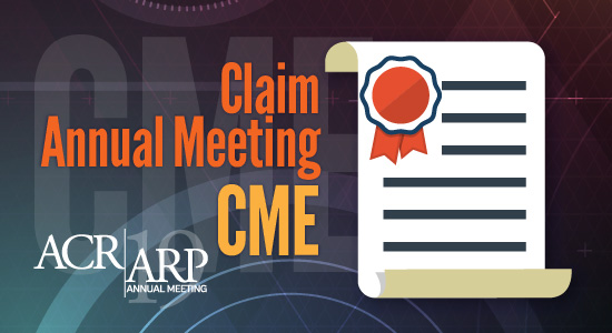 ACR/ARP Annual Meeting CME