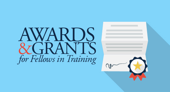 Awards for Fellows in Training