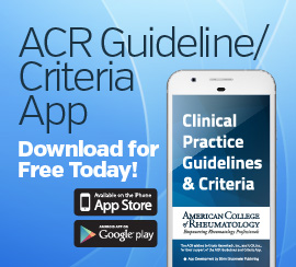 download the free ACR guideline and criteria app