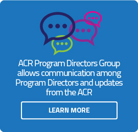 ACR Program Directors Google Group