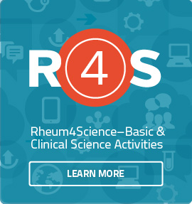 Rheum 4 Science online course