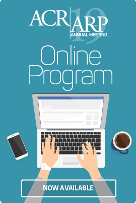 ACR/ARP Annual Meeting online program