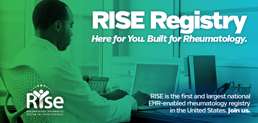 RISE Registry for Rheumatology